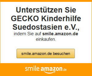 Amazon Smile Gecko Kids Help